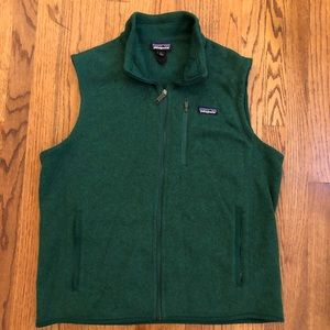 Patagonia better sweater Vest hunter green Large L